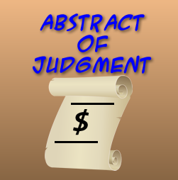 Abstract of Judgment