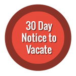30 Day Notice To Vacate Houston Texas