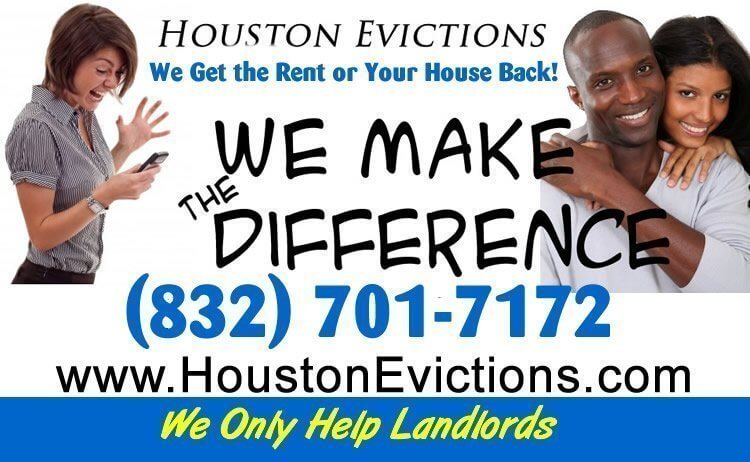 Landlord evictions in houston texas houston evictions